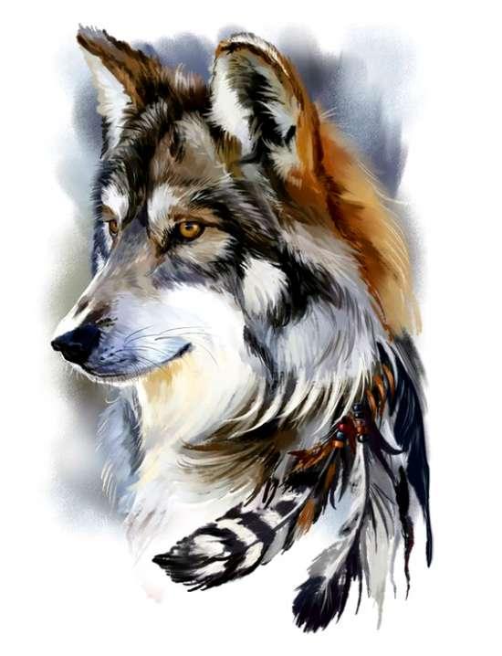 Картина по номерам 40x50 Гордый образ охотника